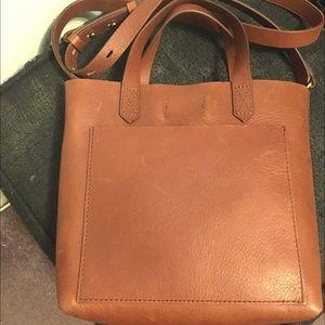 *CUTE* Madewell 100%Leather shoulder bag/mini tote